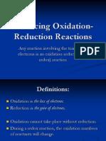 balancingoxidation-reductionreactions