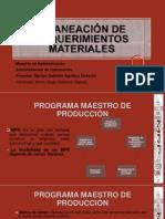 Planeación de Recursos Materiales