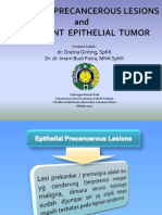 K25.Epithelial Precancerous Lesions and Malignant Epithelial Tumors (Kulit)