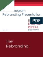 peppsquad rebrand presentation
