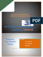 Trabajo DEL PICNOMETRO EN INEGENIERIA DE PAVIMENTOS EN LA UNIVERSIDAD FRANCISCO DE MIRANDA