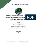 TECNOLOGÍA DE CONTROL DE LA CONTAMINACION DEL AGUA.doc