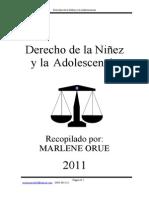 Derecho de la Niñez y la Adolescencia