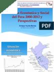 Desarrollo Económico del Peru 2000-2012 y perspectiva