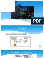 Sensores Termoeléctricos Instrumenación