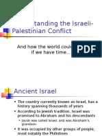 Understanding the Israeli-Palestinian Conflict