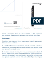 Onetouch 6033 User Manual Spanish