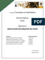 Practica 1 - Destilación Reporte