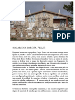 Solar dos Jorges / Jorges's Castle