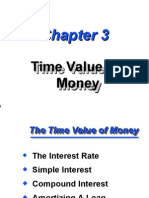 Time Value of Time Value of Money