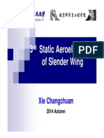 L3_Static Aeroelasticity of Slender Wing
