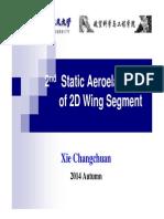 L2_Static Aeroelasticity of 2D Wing Segment