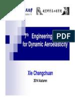 L7_Engineering Method for Dynamic Aeroelasticity