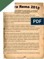 """Palabra Rema 2015 """"palabra profética"""""""