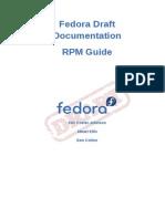 Fedora Draft Documentation 0.1 RPM Guide en US