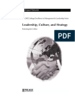 Jim Collins - Leadership, Culture, And Strategy - Participant Material