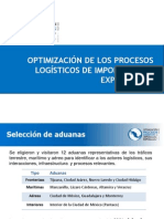 OptimizacionProcesosLogistcios costos