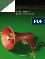 Como elaborar el plan de comunicación