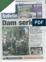 News Article - No Dam