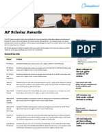 ap scholar awards - ap students