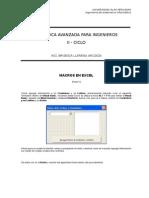 Macros en Excel Parte V