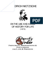 Nietzsche, Frierdich - On the Use and Abuse of History for l