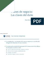 Planes de Negocio - Claves del Exito - Barcelona