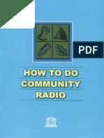 UNESCO - How to Do Community Radio - Primer for CR Operators [2002]