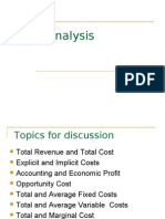 Cost Analysis Presentation[1]