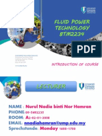 1. Introduction to Fluid Power