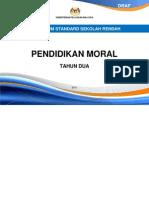 DOKUMEN STANDARD PENDIDIKAN MORAL TAHUN 2
