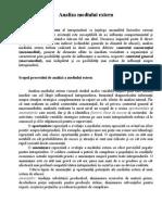 - 12 - Economie - Analiza Mediului Extern