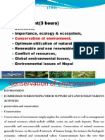 Ch IV Conservation of Environment