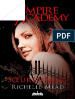 Vampire Academy - Tome 1 - Soeurs de Sang