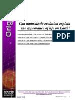 Answers in Genesis - (PDF) - Ken Ham - Origins 1 - Appearance of Life on Earth