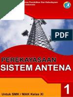 Perekayasaan Sistem Antena Xi-1 (b)