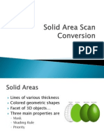Solid Area Scan Conversion