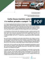 Press Carlos Sousa 10.01.13