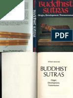 Buddhist Sutras, Their Original, Development, Tranmission - K Mizuno (1982)