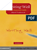 Writing Well_ the Essential Gui - Mark Tredinnick