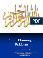 how planning in done in pakistan