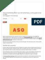 Posicionamiento ASO Herramientas y Como Posicionar Tu App _ Posicionamiento Web Salamanca