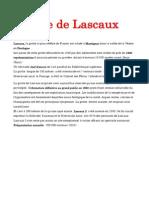 Grote de Lascaux