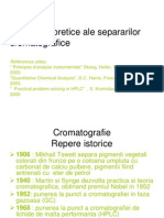 Curs 1 Generalitati Cromatografie de Lichide