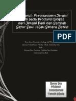 Pengaruh Pretreatment Jerami Padi Pada Produksi Biogas