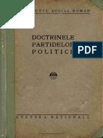 Doctrinele partidelor politice