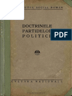 Doctrinele partidelor politice