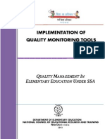 Quality Monitoring Tools for Ssa in Hp 2014-15