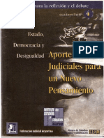Aporte de Los Judiciales Para Un Nuevo Pensamiento - Parte I