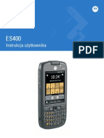 Instrukcja Obslugi Motorola ES400